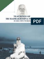 Sri Saipadananda Radhakrishna Swamiji