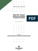 917001manual Mass Flow Pressure Meters Controllers