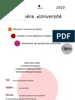 Présentation Opéra-Université