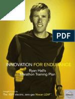 Ryan Hall Full Marathon Plan