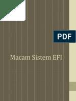 Macam Sistem EFI