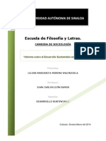 Informe de Proyectos DS Sinaloa