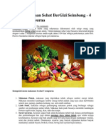 Menu Makanan Sehat BerGizi Seimbang