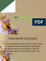 Procedimientos de Evaluacion Ecologica