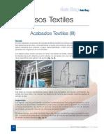Acabados Textiles III