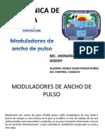 Moduladores de Ancho de Pulso