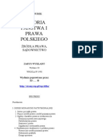 HISTORIA PAŃSTWA I PRAWA POLSKIEGO-Piotr Jurek