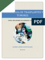 Inmunologia de Tumores y Trasplantes