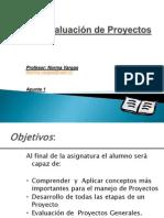 Apunte 1 Evaluación Proyectos 2013