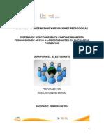 Guia Web Conferencia E-estudiante Version Marzo2 2014