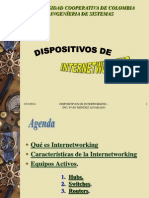 Dispositivos de Internetworking