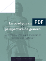 Libro Mujeres y Sistema Acusatorio Scjn Laura Aragon
