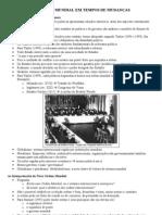 Geopolítica - reflexões sobre a globalização e identidade das nações (Geopolítica II)