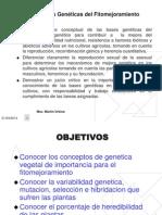 Unidad II Elementos de Genetica Cuantitativa