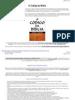 O Código da Bíblia completo