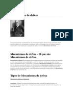 Mecanismos de Defesa Freud