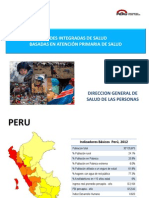 Redes Integradas Salud DSSP 2013