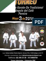 Torneo Karate-Do Tradicional Pereira 2014 - Información