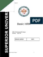 BASIC HRM