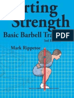 Starting Strength, 3rd Edition - Mark Rippetoe