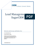 Lead Management in Sugarcrm