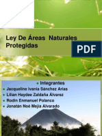Lugares Naturales Protegidos