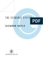 Doyle - The Economic System (Wiley, 2005)
