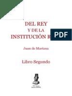 Del Rey y de La Institucic3b3n Real Libro Segundo1