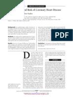 Fibra Dietetica y Riesgo de Enfermedad Coronaria