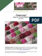 33 Flower Scarf