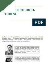 Tesisdechurch Turing