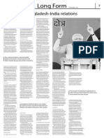 Long Form- Modi-fying Bangladesh-India relations