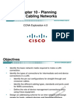 CCNA Exp1 - Chapter10 - Planning and Cabling Network