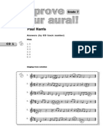 Improve Your Aural Grade 7 Answers