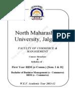 2011-12 B.B.M. (E-Commerce) Sem - I and II