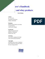 Lecturer's Handbook on Whey