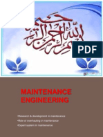 R&D Maintenance