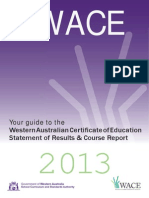 WACE Information Paper 2013 Web Version