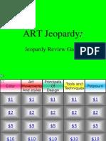 Art Jeopardy 1