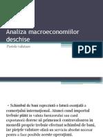 Analiza macroeconomiilor deschise