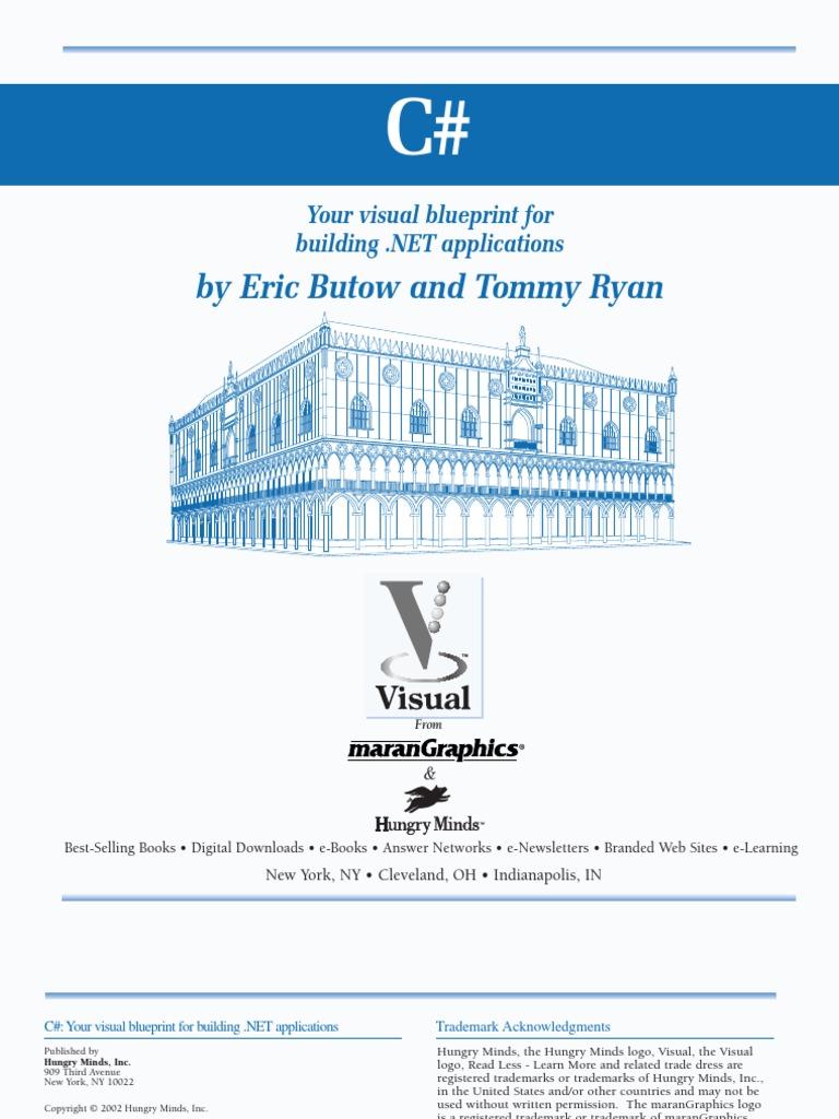 C# Sharp Eric Butow Tommy Ryan | C Sharp (Programming