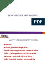 WHY TEACH Literature
