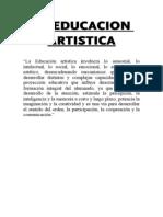 La Educacion Artistica