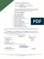 BoardResolution36 REA 2014