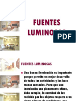 10 Fuentes Luminosas