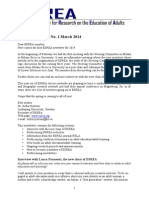 ESREA Newsletter March2014 0