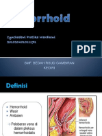 Hemorrhoid ppt