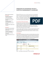 Primavera Visualizer Data Sheet 1927455