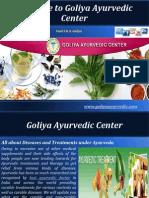 Types of Diseases and Ayurvedic Treatments – Goliya Ayurvedic Center