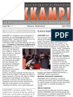 KAKKAMPI Newsletter Vol 1 No 1